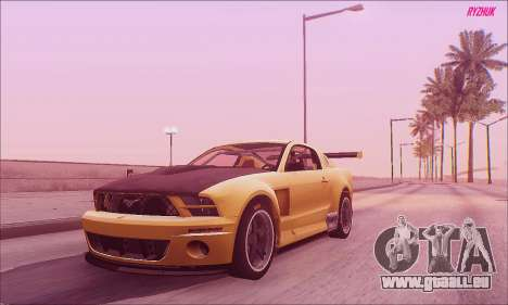 Ford Mustang GTR für GTA San Andreas