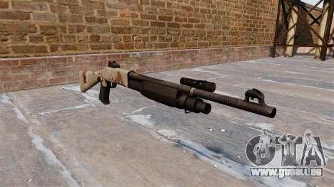 Ружье Benelli M3 Super 90 choco pour GTA 4