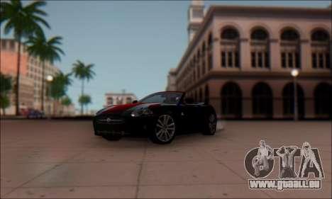Jaguar XK 2007 für GTA San Andreas