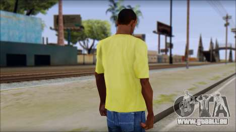 Waffle T-Shirt für GTA San Andreas zweiten Screenshot