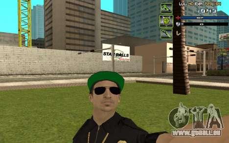 C-HUD by SampHack v.5 für GTA San Andreas