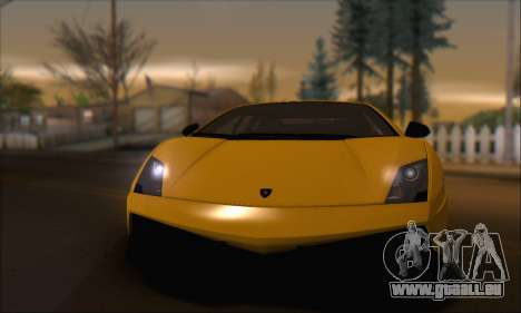 Lamborghini Gallardo LP570 Superleggera für GTA San Andreas Seitenansicht