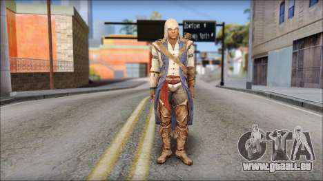 Connor Kenway Assassin Creed III v2 pour GTA San Andreas