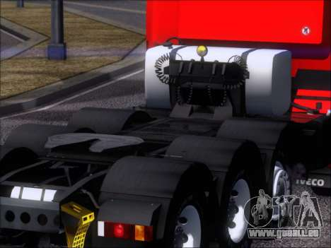Iveco Stralis HiWay 560 E6 8x4 für GTA San Andreas obere Ansicht