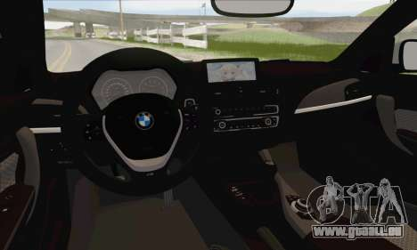 BMW M135i pour GTA San Andreas salon