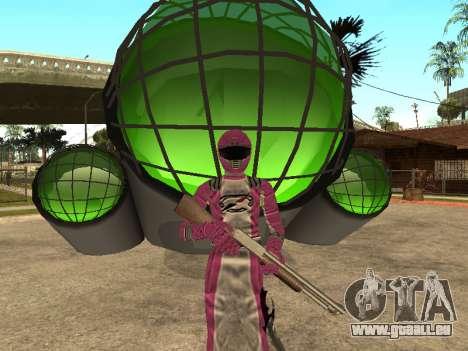 Power Rangers Operation Overdrive für GTA San Andreas zehnten Screenshot