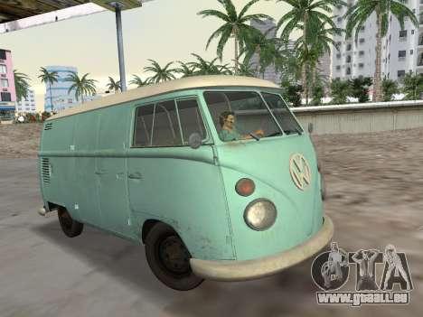 Volkswagen Type 2 T1 Van 1967 für GTA Vice City