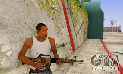 Cutscene M16 from Stowaway Conversion für GTA San Andreas dritten Screenshot