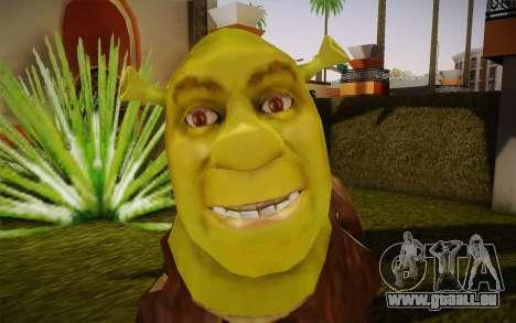 Shrek pour GTA San Andreas troisième écran