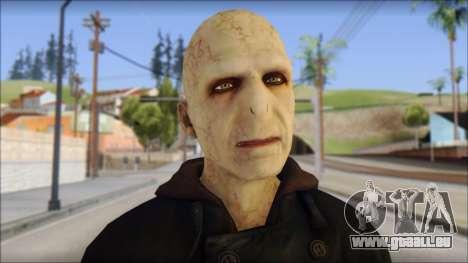 Lord Voldemort pour GTA San Andreas troisième écran