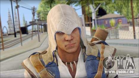 Connor Kenway Assassin Creed III v2 pour GTA San Andreas troisième écran