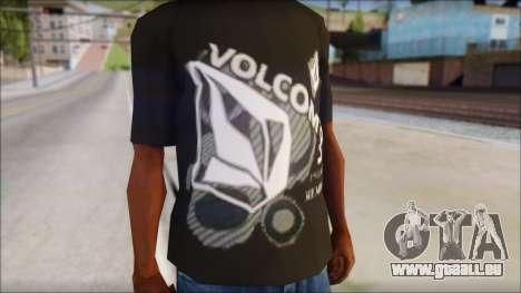 Volcom T-Shirt für GTA San Andreas dritten Screenshot