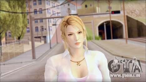 Sarah from Dead or Alive 5 v4 für GTA San Andreas dritten Screenshot