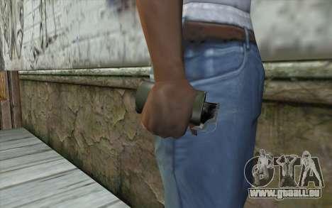 Smoke Grenade für GTA San Andreas dritten Screenshot
