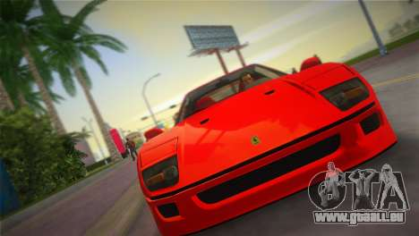 Ferrari F40 für GTA Vice City