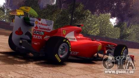 Ferrari 150 Italia pour GTA 4 est une gauche