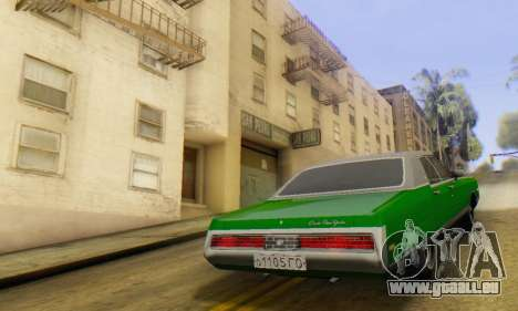 Chrysler New Yorker 1971 für GTA San Andreas linke Ansicht