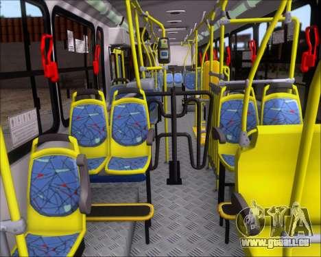 Marcopolo Torino G7 2007 - Volksbus 17-230 EOD für GTA San Andreas Innenansicht