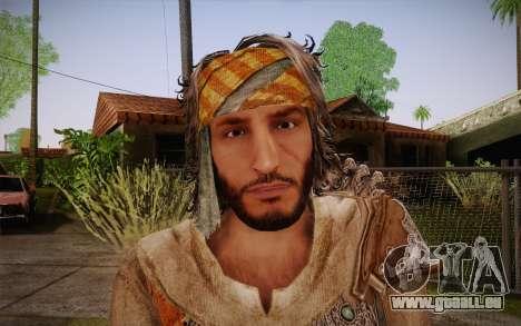 Yusuf Tazim from Assassin Creed: Revelation pour GTA San Andreas troisième écran