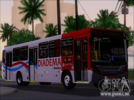 Comil Svelto 2008 Volksbus 17-2 Benfica Diadema für GTA San Andreas Unteransicht
