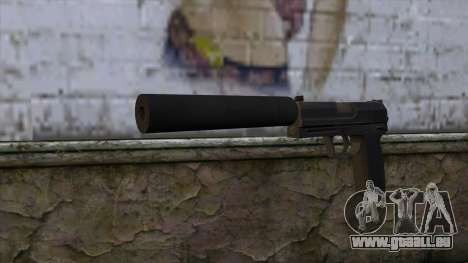 USP-S from CS:GO v2 pour GTA San Andreas