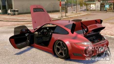 Porsche 911 GT3RSR für GTA 4 Seitenansicht