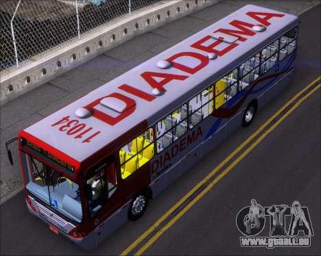 Comil Svelto 2008 Volksbus 17-2 Benfica Diadema für GTA San Andreas Rückansicht