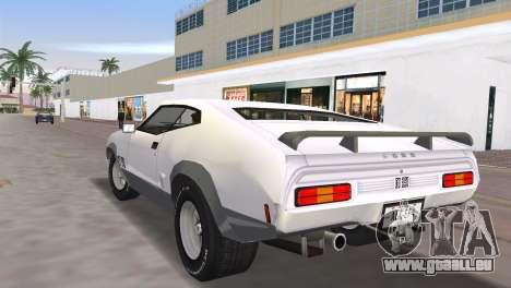 Ford XB GT Falcon Hardtop 1973 pour une vue GTA Vice City de la gauche