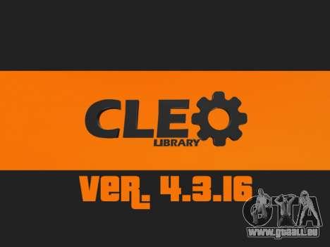 CLEO 4.3.16 für GTA San Andreas