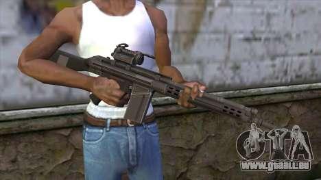 HK A4 SOG from Medal Of Honor: Warfighter für GTA San Andreas dritten Screenshot