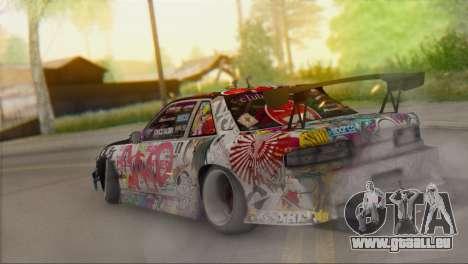 Nissan S13 MAD DRIFT pour GTA San Andreas laissé vue