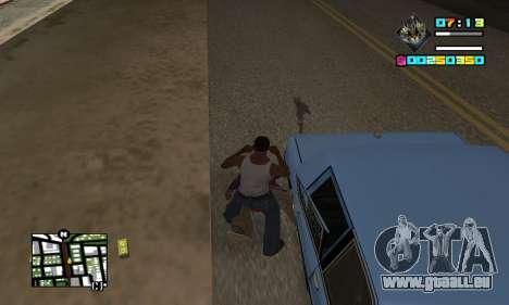 New HUD by Ptaxa1999 pour GTA San Andreas troisième écran