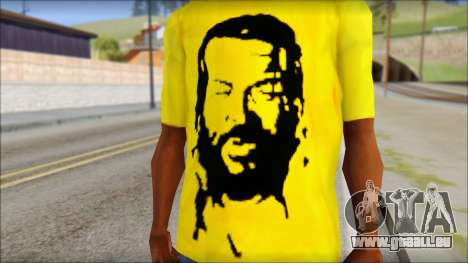 Bud Spencer And DAnusKO T-Shirt für GTA San Andreas dritten Screenshot