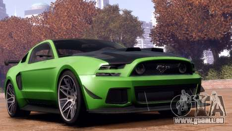 Ford Mustang GT 2014 Custom Kit pour GTA 4