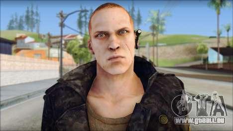Jake Muller from Resident Evil 6 v1 pour GTA San Andreas troisième écran