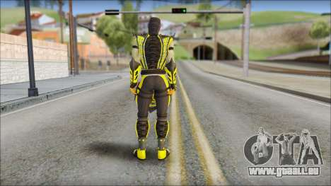 Scorpion Skin v2 pour GTA San Andreas deuxième écran