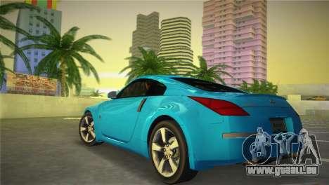 Nissan 350Z für GTA Vice City linke Ansicht