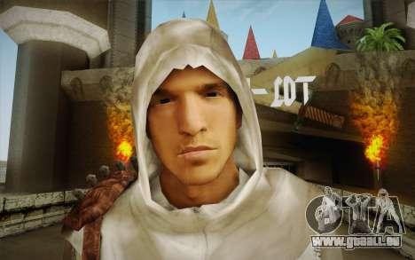 Altair from Assassins Creed pour GTA San Andreas troisième écran