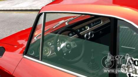 Lancia Fulvia HF für GTA 4 rechte Ansicht