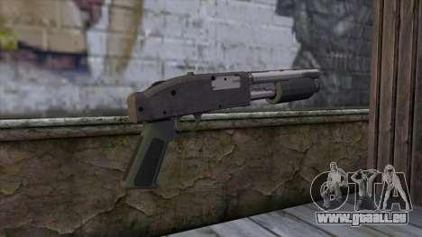 Sawnoff Shotgun from GTA 5 v2 für GTA San Andreas zweiten Screenshot