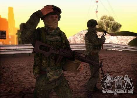 Angriff der special forces der Innenraum. für GTA San Andreas