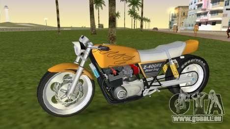 Kawasaki Z400FX Street Drag Racer pour GTA Vice City