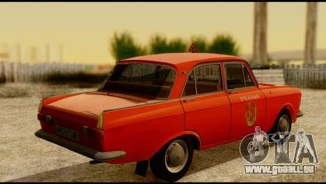 Moskvich U pour GTA San Andreas laissé vue