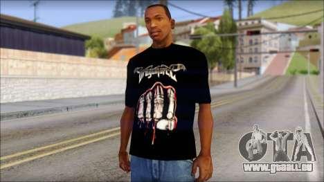 Dragonforce In Your Face Fan T-Shirt für GTA San Andreas