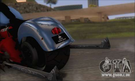 Boss Hoss v8 8200cc pour GTA San Andreas vue de droite