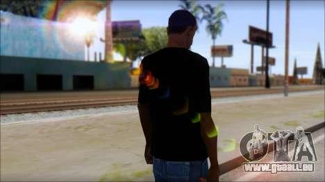 Anarhcy T-Shirt v1 pour GTA San Andreas deuxième écran