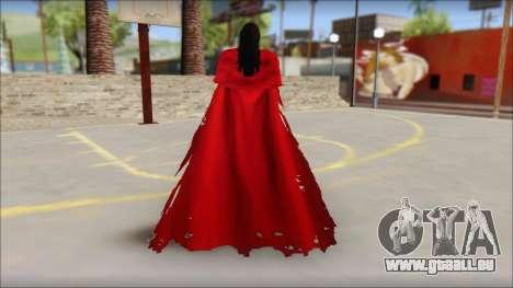 Final Fantasy VII - Vincent pour GTA San Andreas deuxième écran