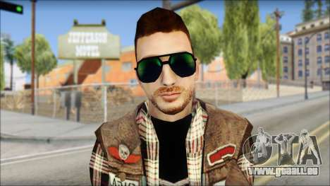 Biker from Avenged Sevenfold für GTA San Andreas dritten Screenshot