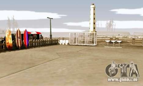 New Santa Maria Beach v1 für GTA San Andreas dritten Screenshot