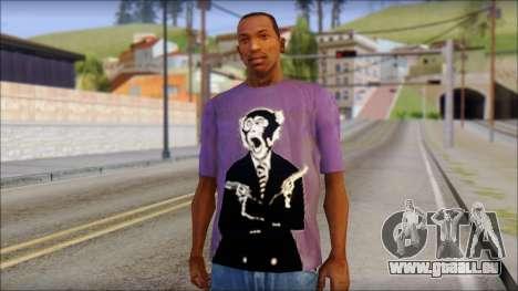 Monkey T-Shirt für GTA San Andreas